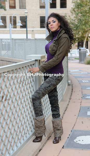 Outdoor Fashion Shoot With Marcela