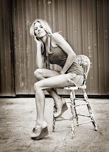 Beautiful Stephanie-262bw