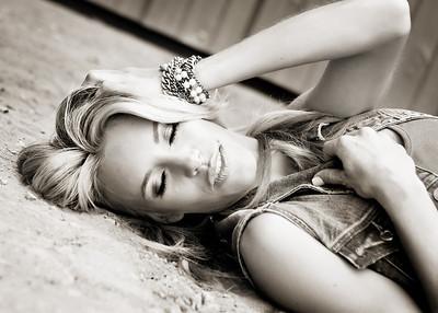 Beautiful Stephanie-393bw