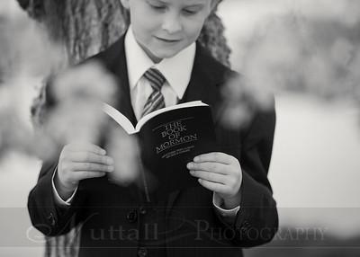 Lucas Baptism 08bw