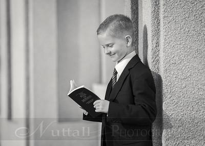 Lucas Baptism 17bw
