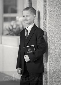 Lucas Baptism 18bw