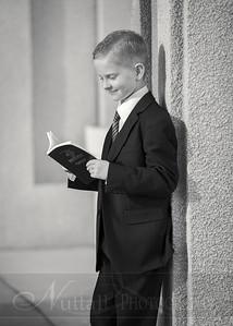 Lucas Baptism 16bw
