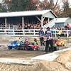 The power wheels demo derby for the kids.
