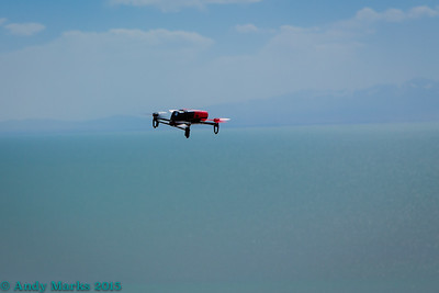 Bebop, west shore, Antelope Island, UT