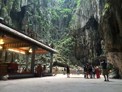 Batu cave et ses touristes