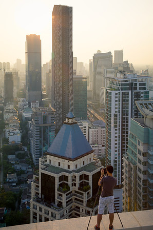 Rooftop session in Bangkok