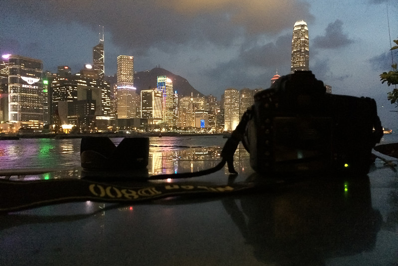Nikon D800 in action.