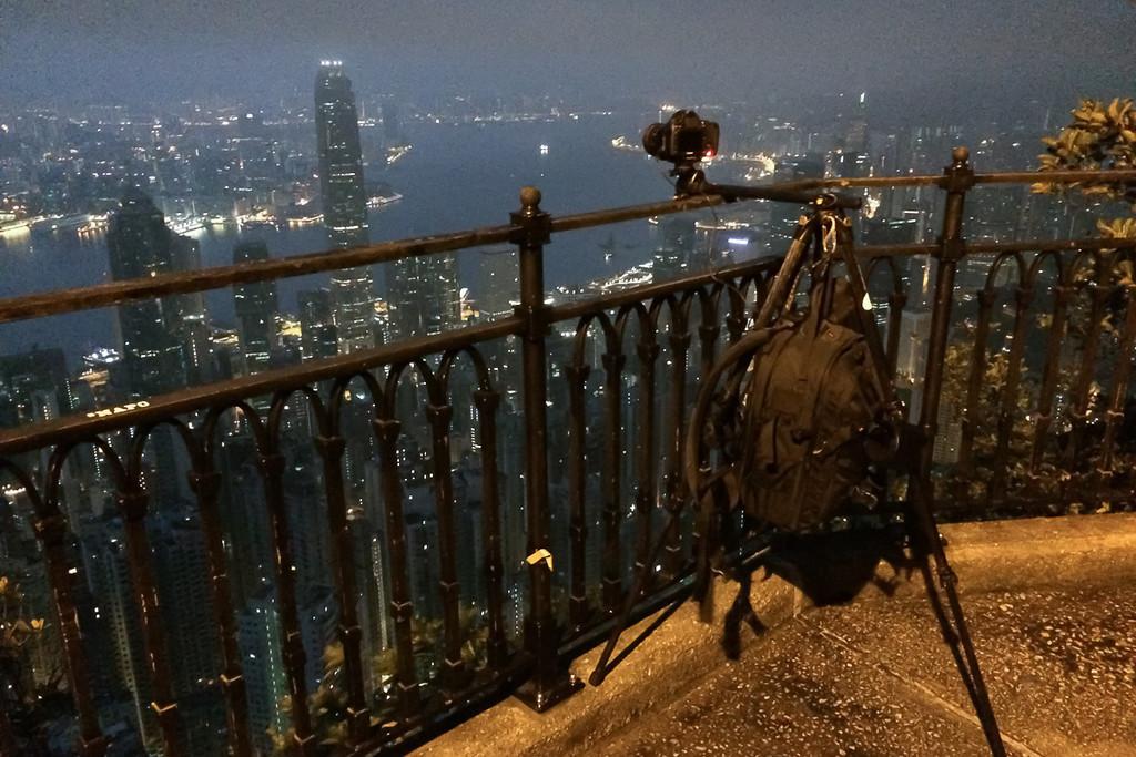 Lugars road, probablement le plus beau point de vue à Hong-Kong