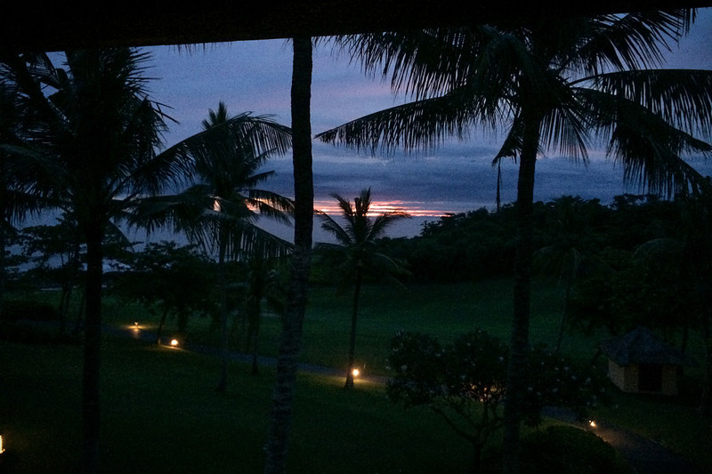 Bonne nuit Bali.
