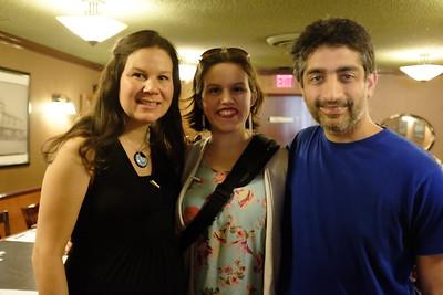Becca, Sarah, Nik