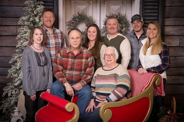 Gilmer Family Christmas Photos