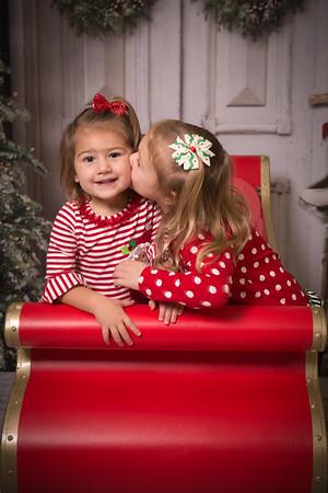 Rachel & Andy Christmas Photos