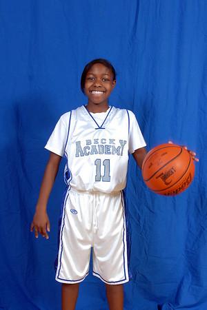 Beck Girl's Basketball 2008-2009