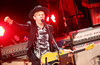Beck performs at Red Rocks on August 15, 2014.
