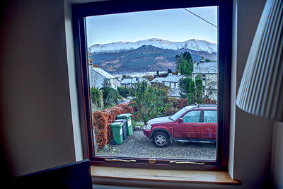 Thu 24th Nov : Skiddaw from the left lounge window