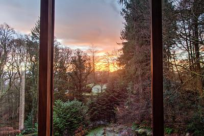 Tue 29th Nov : sunrise from my desk