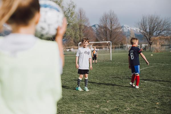 Soccer Game {Rangers}