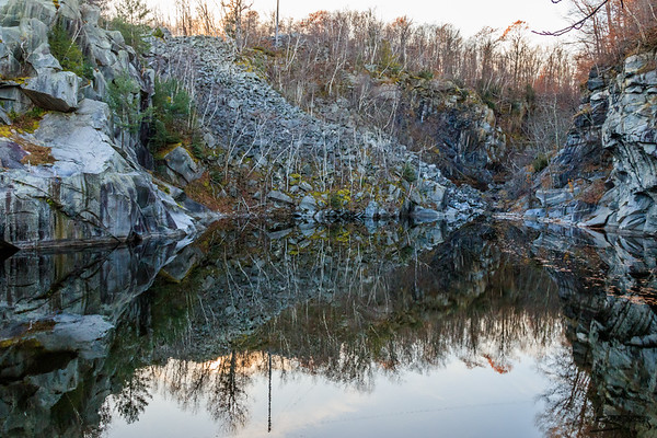 Becket Quarry - Fall