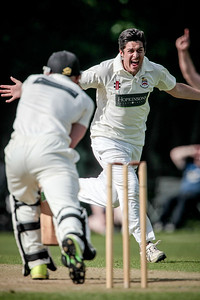 Beckwithshaw claim another wicket during the opening spell
