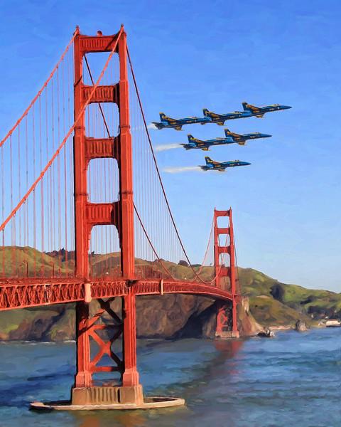 Golden Gate Blue Angels