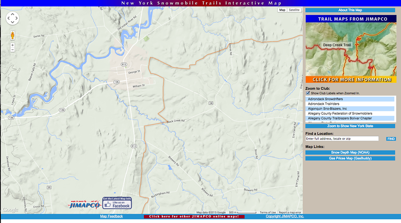 Snowmobiling trails nearby! We are on George street and the trail connects with out street. For more info and a Lewis County map click here: http://jimapco.com/maproom/snowmobile/nys/
