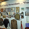 These items belonged to WWII Bedford veterans.