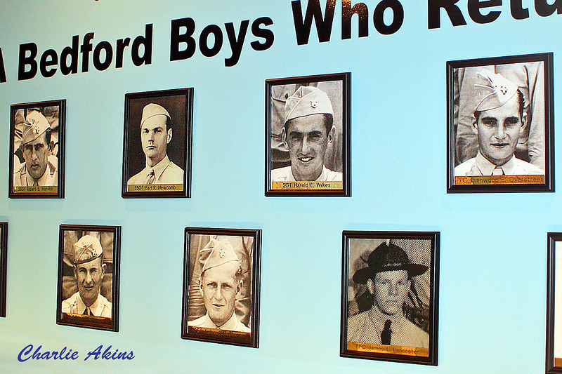 Photographs of the young men who came back