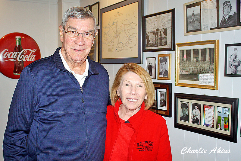 I had the pleasure of meeting the curators, Ken and Linda. Ken gave me an excellent tour of the museum.