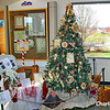 This tree was decorated by the Bedford Community Christmas Station.