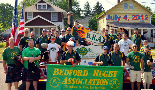 Bedford Rugby Association Games and 4th. of July Parades