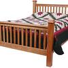 Prairie Mission Bed in Oak