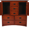 Mission Dresser in Autumn Oak (open)
