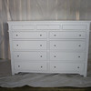 Custom Maple Dresser with White Paint