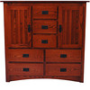 Mission Dresser in Autumn Oak (closed)