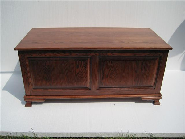 "Heritage Chest 48"" - Mahogany Oak"