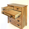 Drawers open