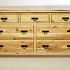 Dresser Houston Style in Hickory with Natural Finish