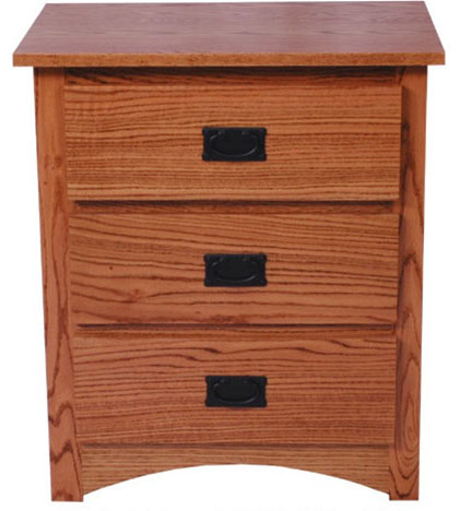 Mission Nightstand (front view)