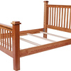 Prairie Mission Bed in Oak