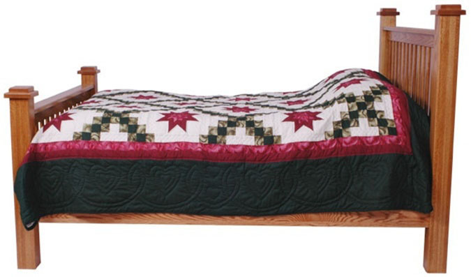 Bed - Prairie Mission (side view)