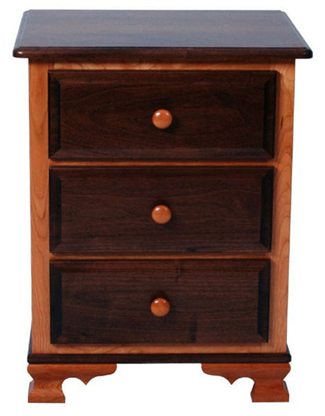 Heritage Nightstand (front view)