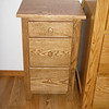 Medium Oak Shaker Nightstand