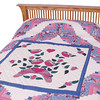 Quilt - Flower Basket (angle view)