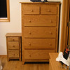 Custom Shaker Medium Oak Chest of Drawers