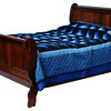 Classic Panel Sleigh Bed in Chocolate Cherry