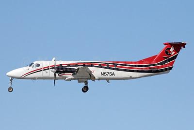 Ravn Connect (Hageland Aviation Services) Beechcraft (Raytheon) 1900C N575A (msn UC-83) ANC (Michael B. Ing). Image: 927823.