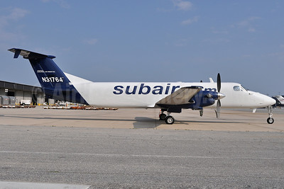 Suburban Air Freight (subair.com)-Pet Airways Beech (Raytheon) 1900C-1 N31764 (msn UC-53) BWI (Tony Storck). Image: 907825.