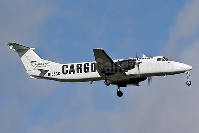 Hageland Aviation Services Cargo Beech 1900C-1 N1553C (msn UC-24) FAI (Keith Burton). Image: 901516.