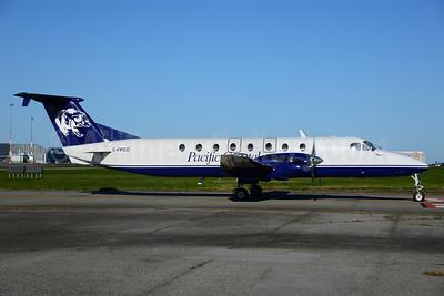 Pacific Coastal Airlines (Pacific Coastal.com) Beech (Raytheon) 1900C C-FPCO (msn UB-52) (bear) YVR (Ton Jochems). Image: 912122.